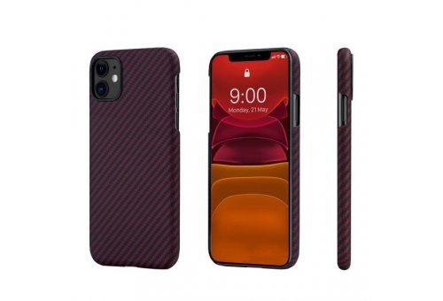 Чехол Pitaka MagEz Case для iPhone 11 (Black/Red Twill)