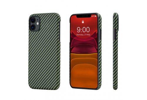 Чехол Pitaka MagEz Case для iPhone 11 (Black/Yellow Twill)