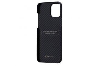 "Чехол Pitaka MagEz Case для iPhone 12 Pro 6.1""(Black/Grey Twill)"