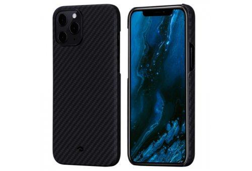 "Чехол Pitaka MagEz Case для iPhone 12 Pro Max 6.7""(Black/Grey Twill)"