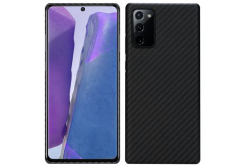Чехол Pitaka MagEz Case для Samsung Galaxy Note 20 Pro (Black/Grey Twill)