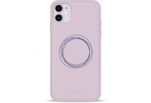 Чехол Pump Silicone Minimalistic Case for iPhone 11 Circles on Light