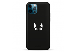 Чехол Pump Silicone Minimalistic Case for iPhone 11 Pro Funny Cat