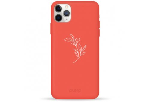 Чехол Pump Silicone Minimalistic Case for iPhone 11 Pro Max Flower Branch