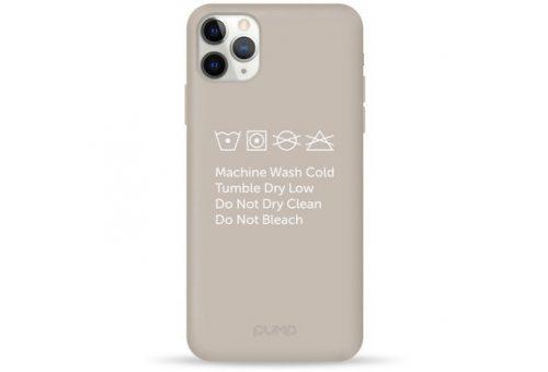 Чехол Pump Silicone Minimalistic Case for iPhone 11 Pro Max Instruction