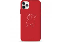 Чехол Pump Silicone Minimalistic Case for iPhone 11 Pro Pug With