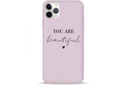 Чехол Pump Silicone Minimalistic Case for iPhone 11 Pro You Are Beautiful