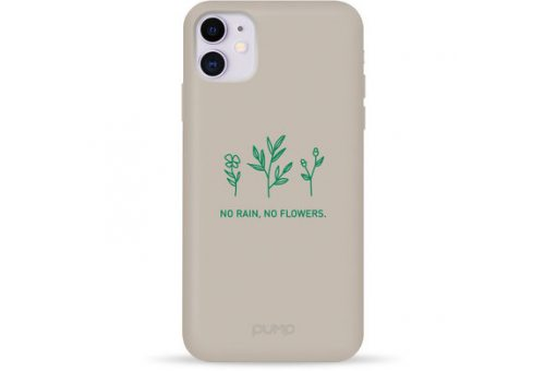 Чехол Pump Silicone Minimalistic Case for iPhone X/XS No Flowers