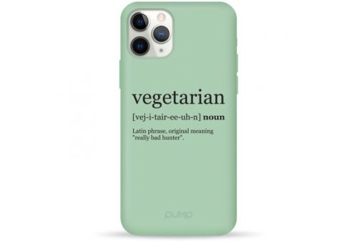 Чехол Pump Silicone Minimalistic Case for iPhone XR Vegetarian Wiki