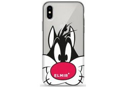 Чехол Pump Transparency Case for iPhone X/XS Sylvester The Cat