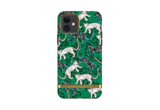 Чехол Richmond & Finch для iPhone 11 Pro Freedom Green Leopard/Green