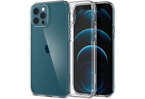 Чехол Spigen Ultra Hybrid iPhone 12/12 Pro (Clear)