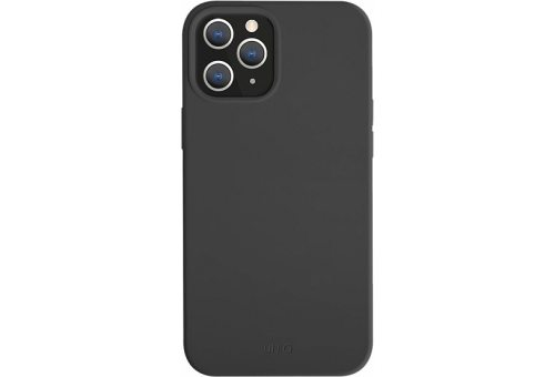 Чехол Uniq для iPhone 12/12 Pro (6.1) LINO Anti-microbial Black