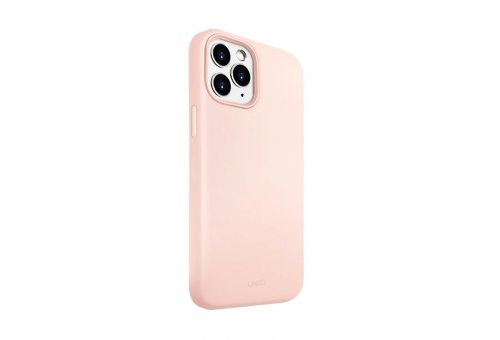 Чехол Uniq для iPhone 12/12 Pro (6.1) LINO Anti-microbial Pink