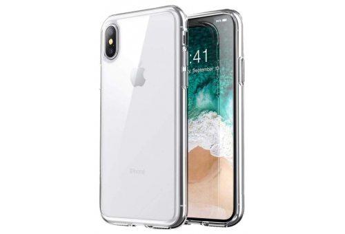 Чехол Uniq для iPhone X/XS Glase Transparent 2