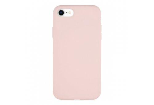 Чехол защитный «vlp» Silicone Сase для iPhone SE 2020, светло-розовый