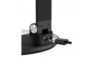 EnergEA Лампа WiLamp LED Desktop с функцией беспроводного ЗУ (5/7.5/10W) Black
