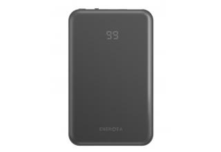 EnergEA Slimpac MINI 10000, USB-C PD18 In/Out +USB QC4.0/PPC, Gunmet