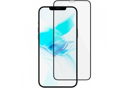 GL110BL03A3D61-I20 Стекло защитное алюмосиликат. для iPhone 12/12 Pro, Extreme 3D, чёрная рамка uBear GL110BL03A3D61-I20 GL110BL03A3D61-I20
