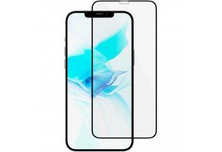GL111BL03A3D67-I20 Стекло защитное алюмосиликат. для iPhone 12 Pro Max,  Extreme 3D, чёрная рамка uBear GL111BL03A3D67-I20 GL111BL03A3D67-I20