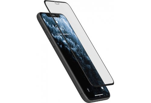 GL57BL03D-I19 Стекло защитное для iPhone  11 Pro/Xs/X, 3D Full Screen Premium Glass, с черной рамкой