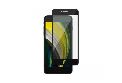 GL91BL033D47-I2 Стекло защитное 3D Full Cover для iPhone SE/8/7 Premium Glass ScreenProtector,черное