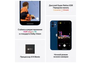 Apple iPhone 12 mini 64 ГБ фиолетовый