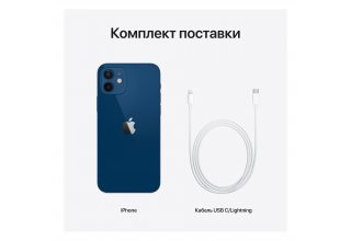 Apple iPhone 12, 128 ГБ, синий Apple MGJE3RM/A MGJE3RM/A