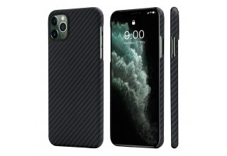 Чехол Pitaka MagEZ Case for iPhone 11 Pro (Black/Grey Twill)