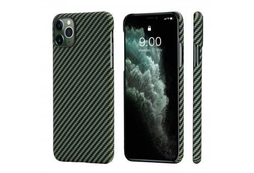 Чехол Pitaka MagEz Case for iPhone 11 Pro Max (Black/Yellow Twill)
