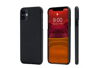 Чехол Pitaka MagEZ Case for iPhone 11 (Black/Grey Twill)