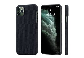 Чехол Pitaka MagEz Case for iPhone 11 Pro (Black/Grey Plain)