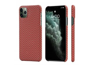 Чехол Pitaka MagEz Case for iPhone 11 Pro (Red/Orange)
