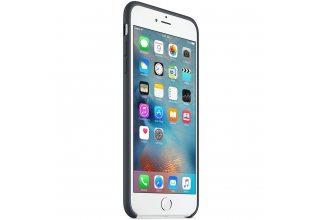 Чехол Apple Silicone Case для iPhone 6/6s Plus угольно-серый