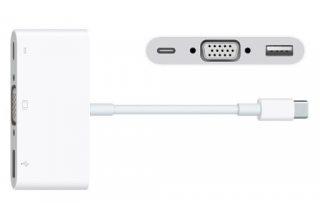Многопортовый адаптер USB-C/VGA