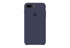 Чехол Apple Silicone Case для iPhone 8/7 Plus, тёмно-синий