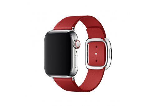 Ремешок Apple Watch 40мм, с современной пряжкой, размер L, (PRODUCT)RED