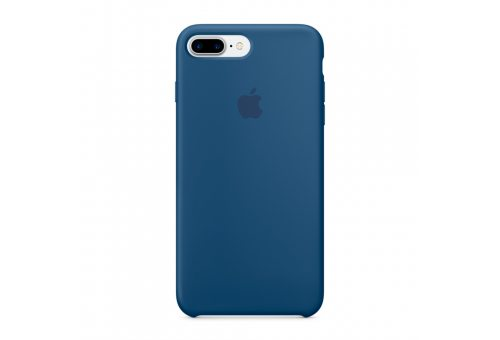 Чехол Apple iPhone 7 Plus Silicone Case - Ocean Blue