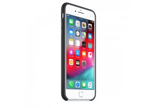 Чехол Apple Silicone Case для iPhone 8/7 Plus, чёрный