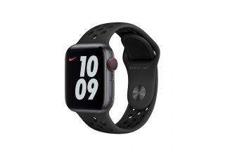Ремень для часов Apple 40mm Anthracite/Black Nike Sport Band