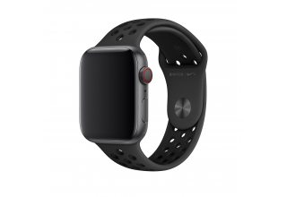 Ремень для часов Apple 44mm Anthracite/Black Nike Sport Band