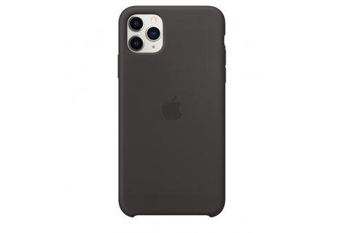 Чехол Apple iPhone 11 Pro Max Silicone Case - Black