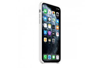 Чехол Apple iPhone 11 Pro Max Silicone Case - White