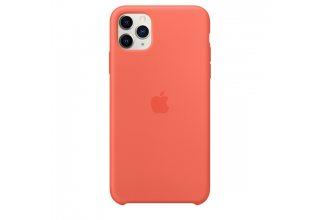 Чехол Apple iPhone 11 Pro Silicone Case - Clementine (Orange)