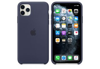 Чехол Apple iPhone 11 Pro Silicone Case - Midnight Blue