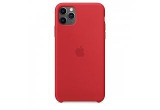 Чехол Apple iPhone 11 Pro Silicone Case - (PRODUCT)RED