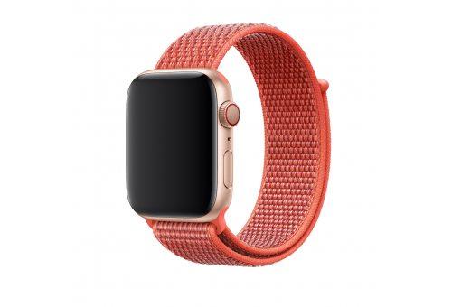 Браслет Apple Watch 40мм, спортивный, «спелый нектарин»