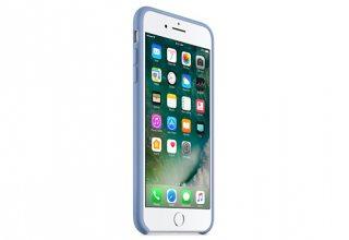 Чехол Apple Silicone Case для iPhone 8/7 Plus лазурный