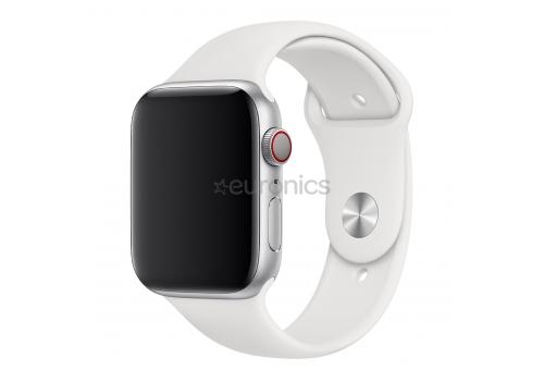 Ремень для часов Apple 44mm White Sport Band - S/M & M/L