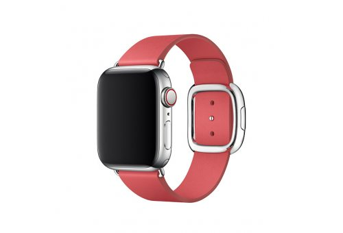 Ремень для часов Apple 40mm Peony Pink Modern Buckle Band - S